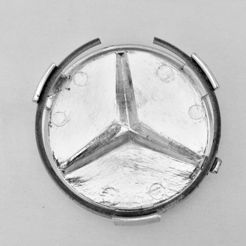 CHROME CENTER HUB CAP M-B-Z W124 300CE-3 4 AMG 250D-T E250-T