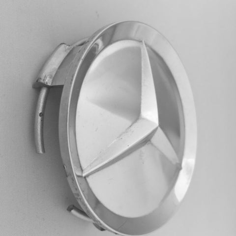 NEW GENUINE MERCEDES-BENZ CHROME CENTER HUB CAP LOGO R129 300SL 300SL-24 SL320 500SL 6.0-AMG  500SL SL500 600SL SL600