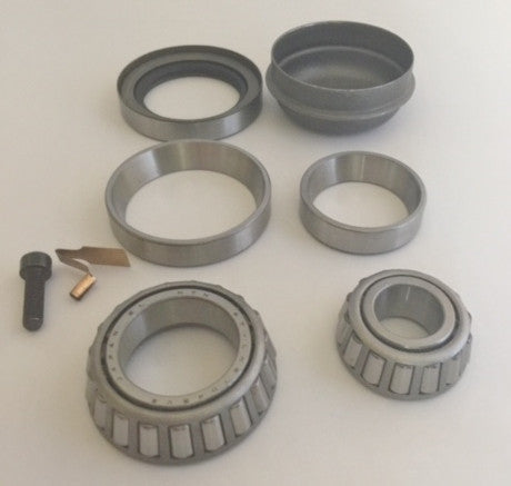 NEW GENUINE MERCEDES-BENZ GERMANY FRONT WHEEL BEARINGS COMPLETE KIT FOR 560SL CONVERTIBLE R107.048   A.B.S. BRAKES # 201 330 02 51