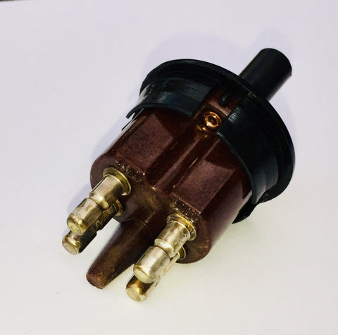 DOOR CONTACT SWITCH ROUND COURTESY LIGHTS LEFT FRONT DOOR 4 POLE TERMINALS WITHOUT VACUUM TUBE NEW GENUINE MERCEDES BENZ W100 600 R107 380SL 450SL 350SL