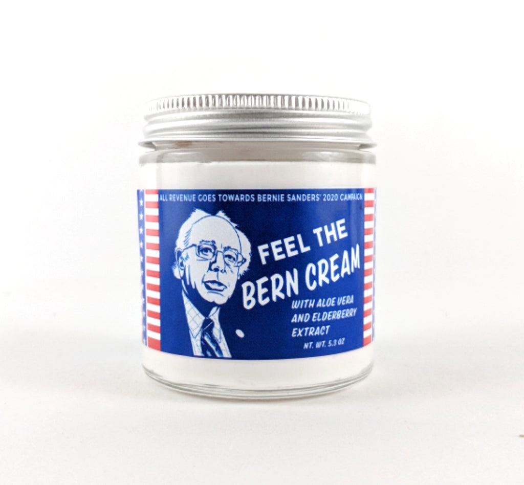 Feel the Bern Cream - All Revenue Donated to the Bernie Sanders Campaign