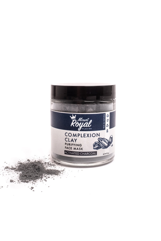Activated Charcoal Face Mask- Complexion Clay