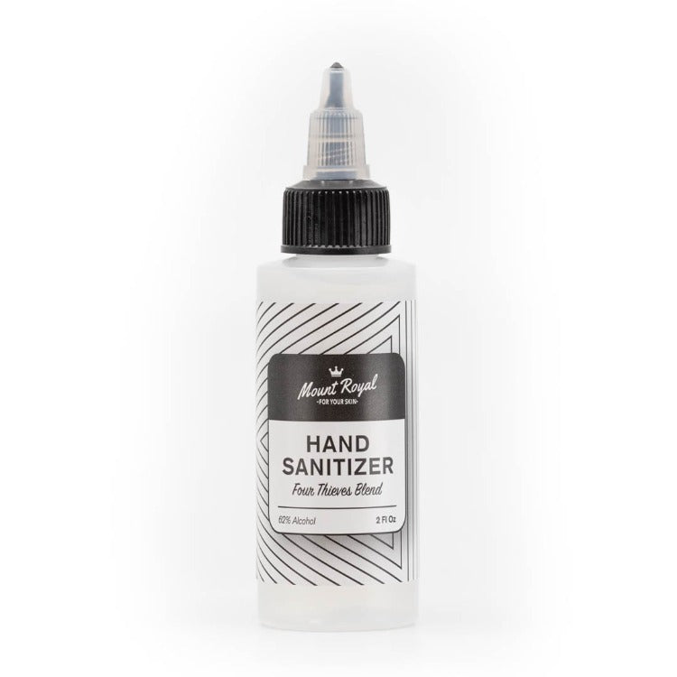 Hand Sanitizer Gel 2oz  Case of 100 | Four Thieves Blend