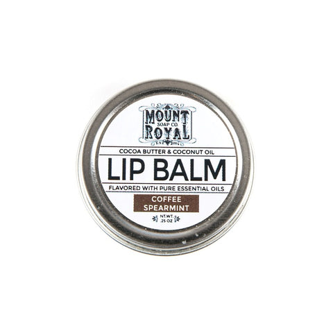 Coffee & Spearmint Lip Balm