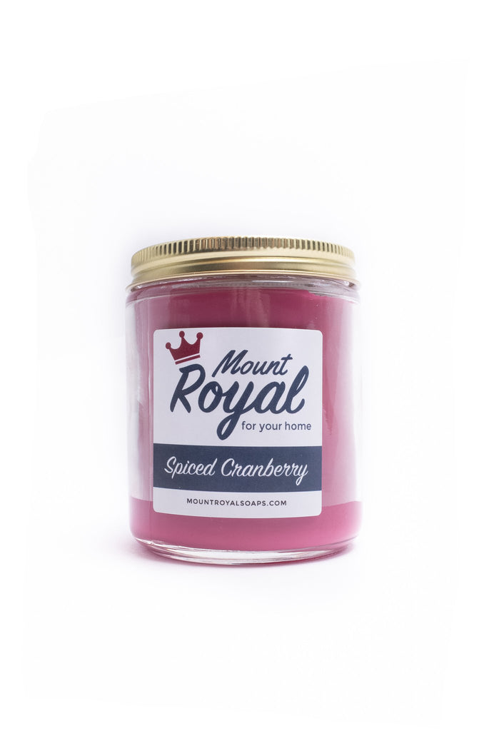 """Spiced Cranberry"" Candle"