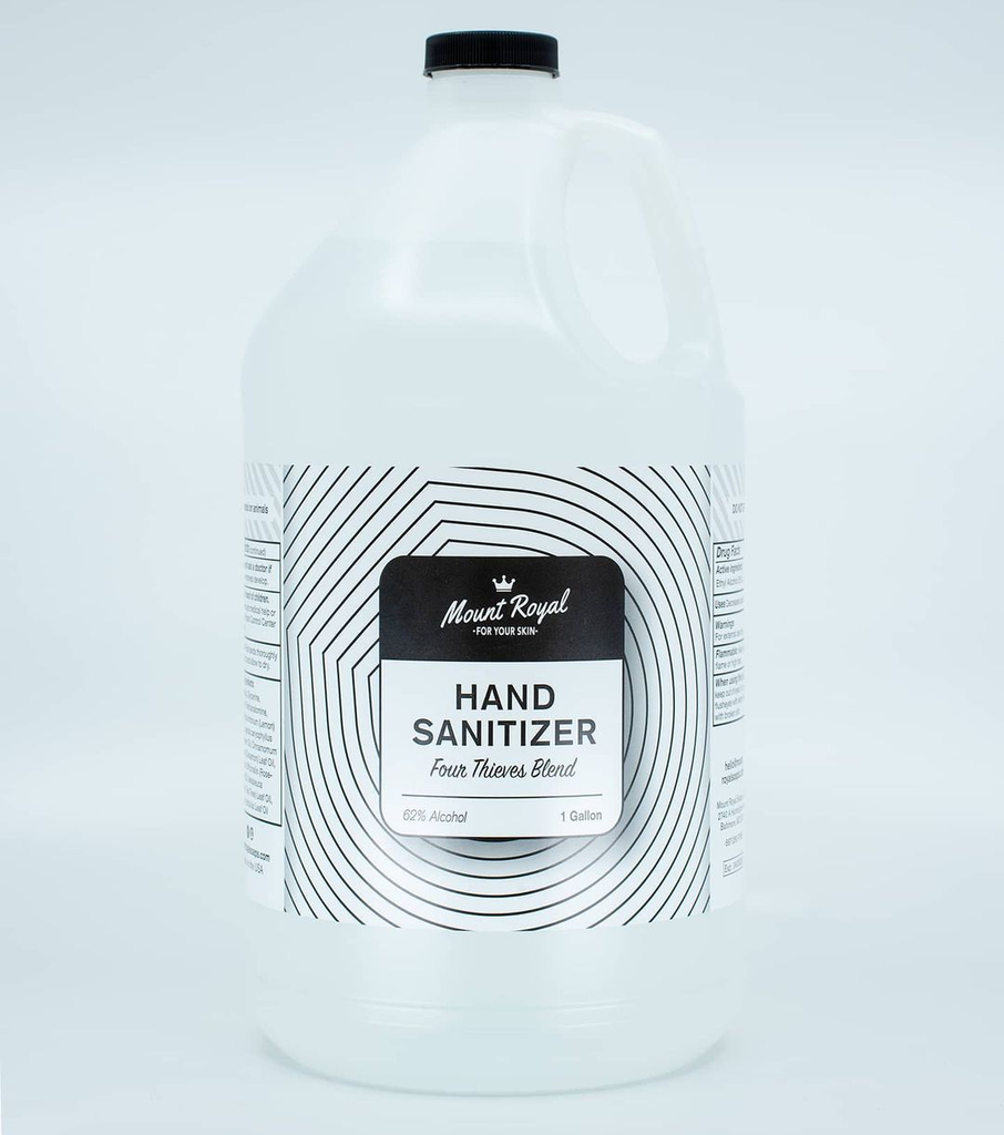 Four Thieves Gel Hand Sanitizer Gallon