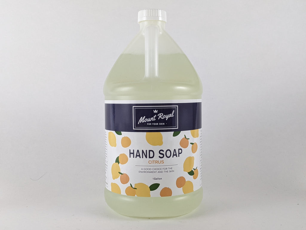 Citrus Liquid Hand and Dish Soap