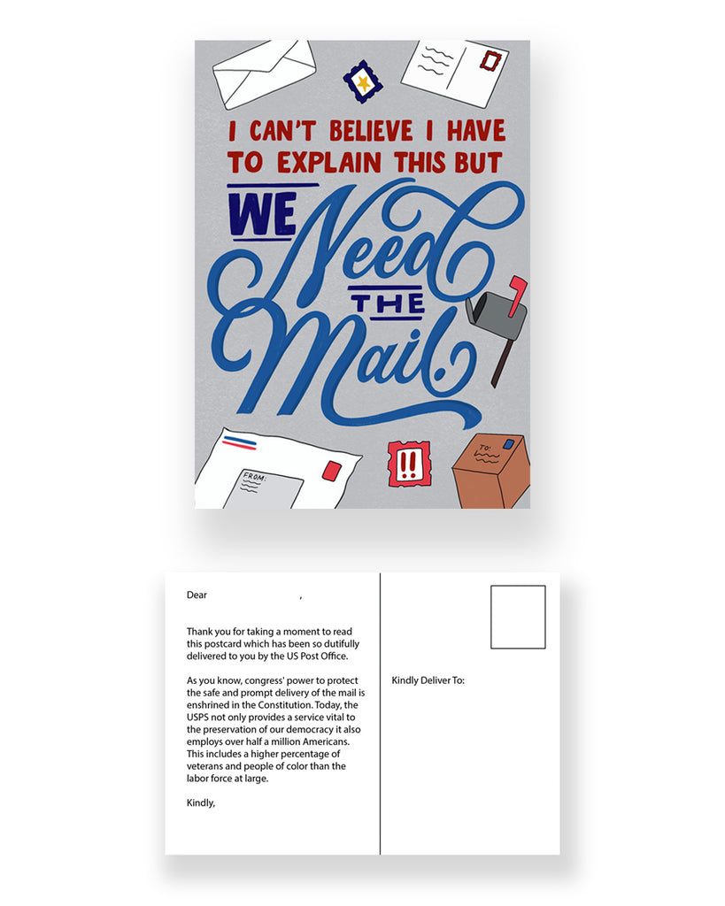Save The USPS Postcard