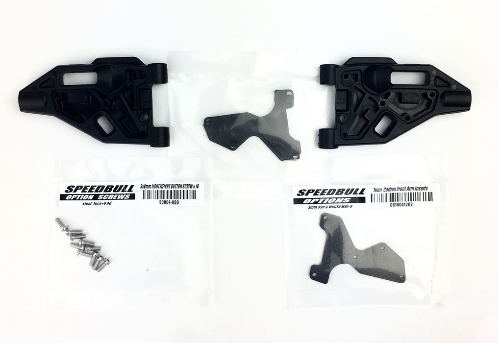 SPEEDBULL FRONT ARM & CARBON INSERTS TD1R&MBX8 PL18041203