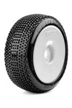 James Revenger (tire insert wheel combo) White (2pcs)