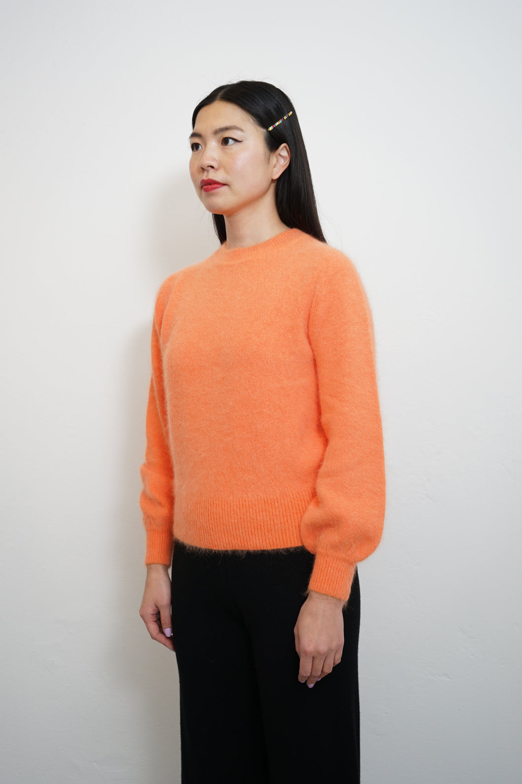 Fluffy Warm Knit Orange