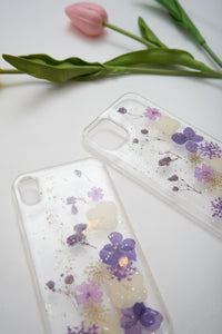 Phone Cover Purple Flower