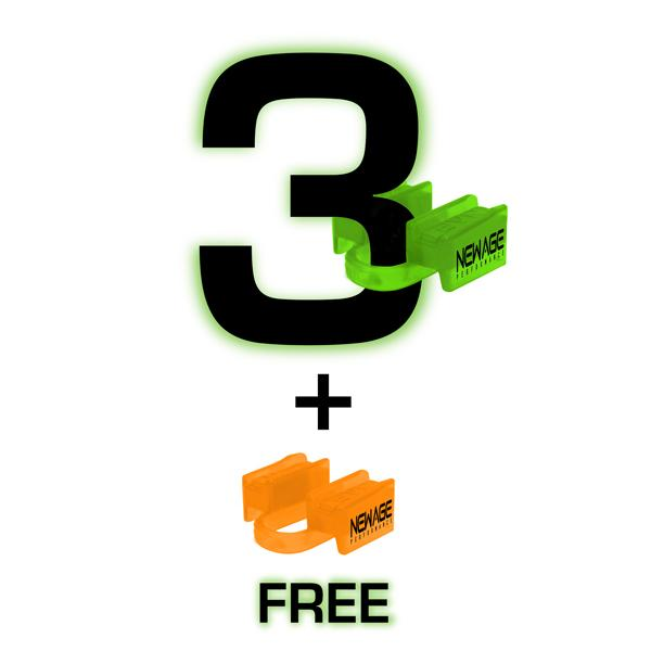 Recreational 1 year 6ds supply - 3 mouthpieces & get 1 free
