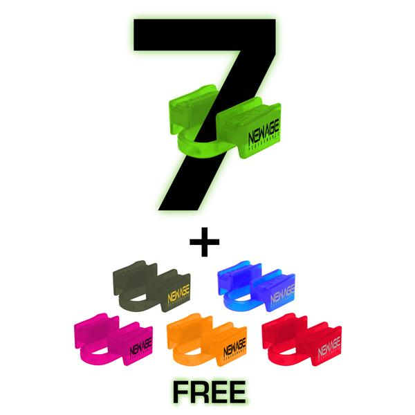 Strongman 1 year 6ds supply - 7 mouthpieces & get 5 free