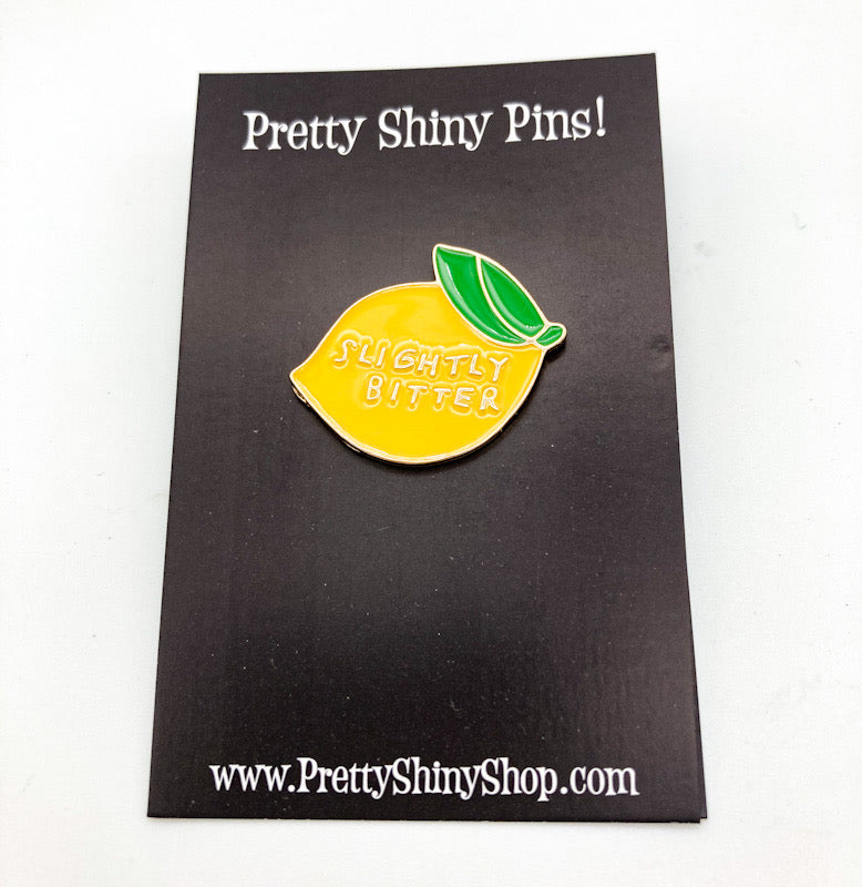 Slightly Bitter Lemon Pin