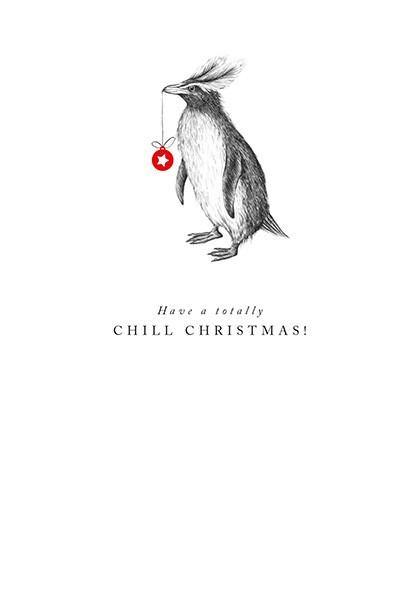 Chill Christmas Card