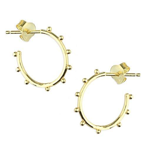 Bauble Hoop Earrings - Pretty Shiny Shop