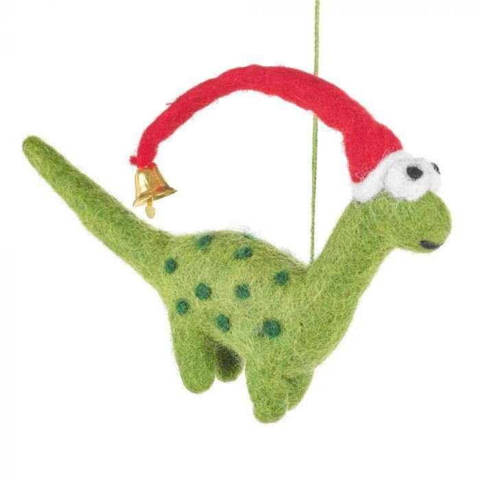 Dino Christmas Decoration - Pretty Shiny Shop