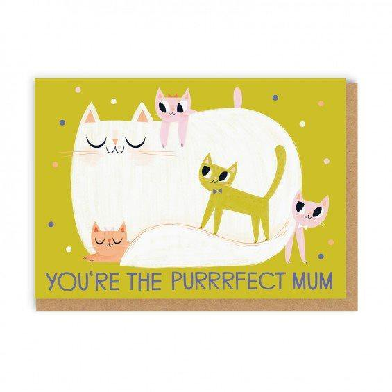 You're The Purrrfect Mum Card