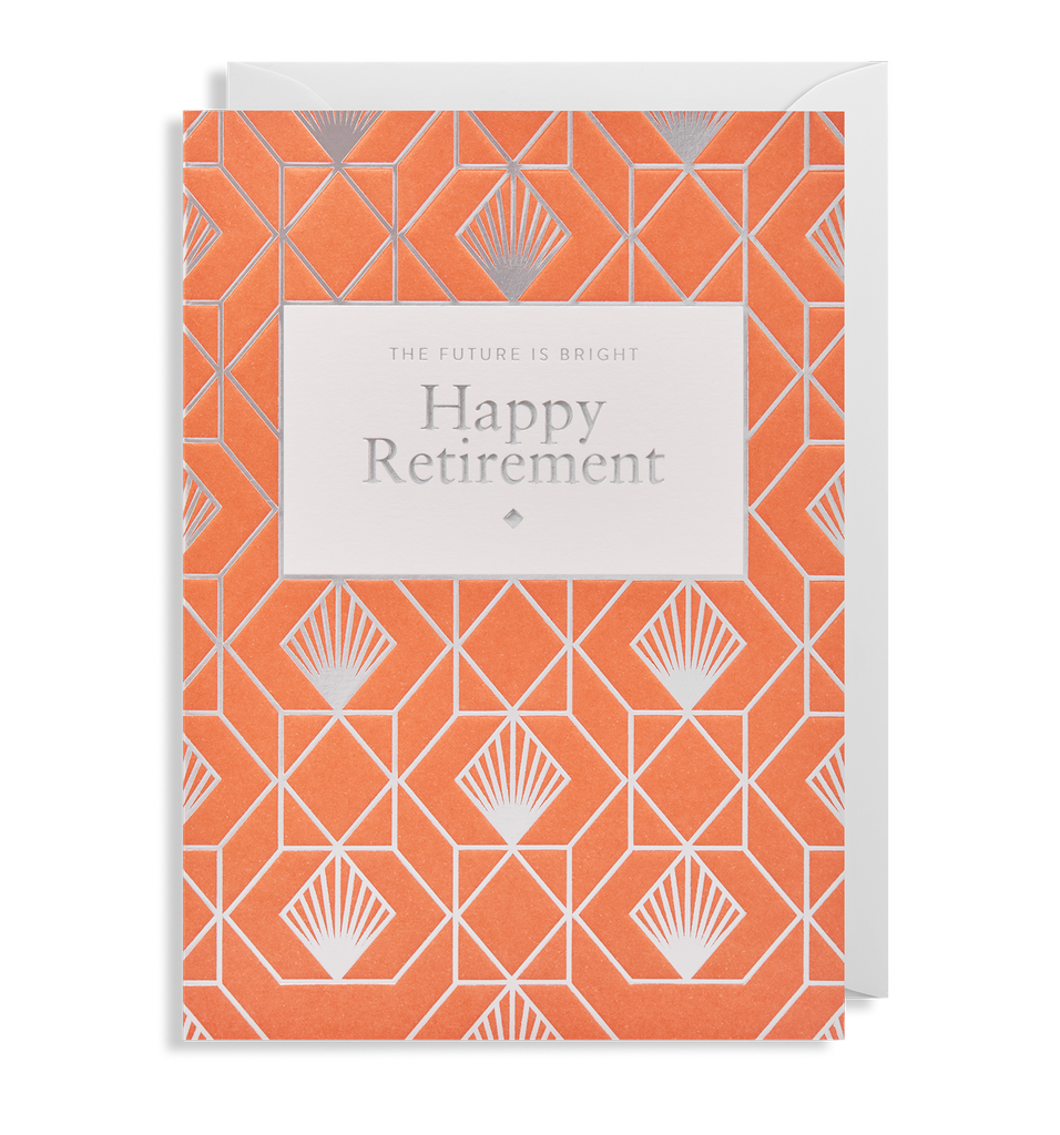 The Future Is Bright Retirement Card - Pretty Shiny Shop