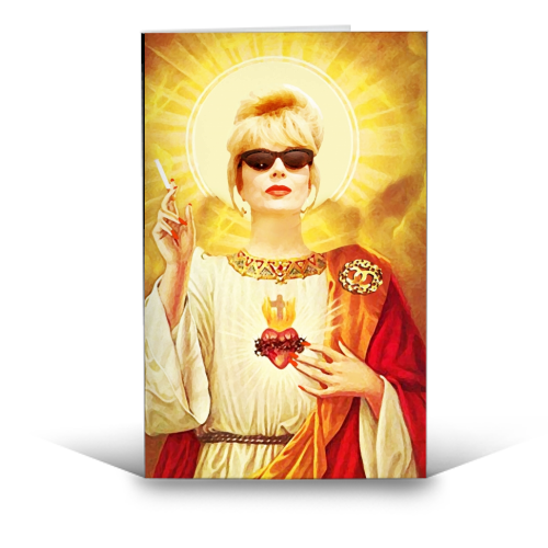 Patron Saint of Fab - Patsy Card - Pretty Shiny Shop