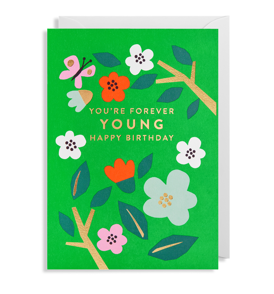 Forever Young Card - Pretty Shiny Shop