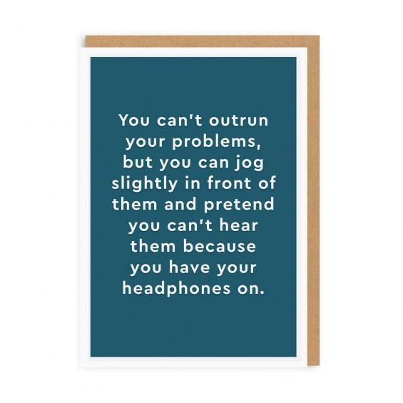Headphones Card - Pretty Shiny Shop