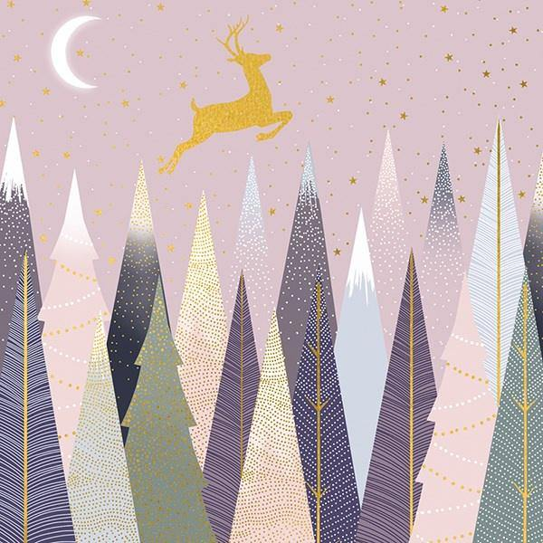 Pastel Deer Card Set - Pretty Shiny Shop