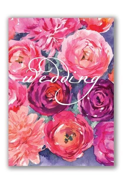 Wedding Roses Card - Pretty Shiny Shop