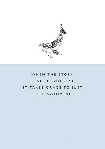 Grace in the Storm Card
