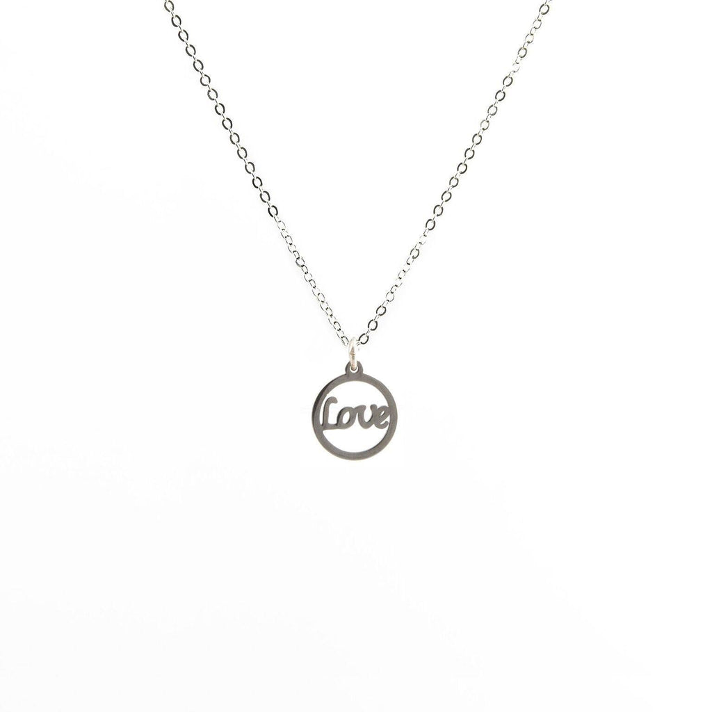 Love in a Circle Necklace
