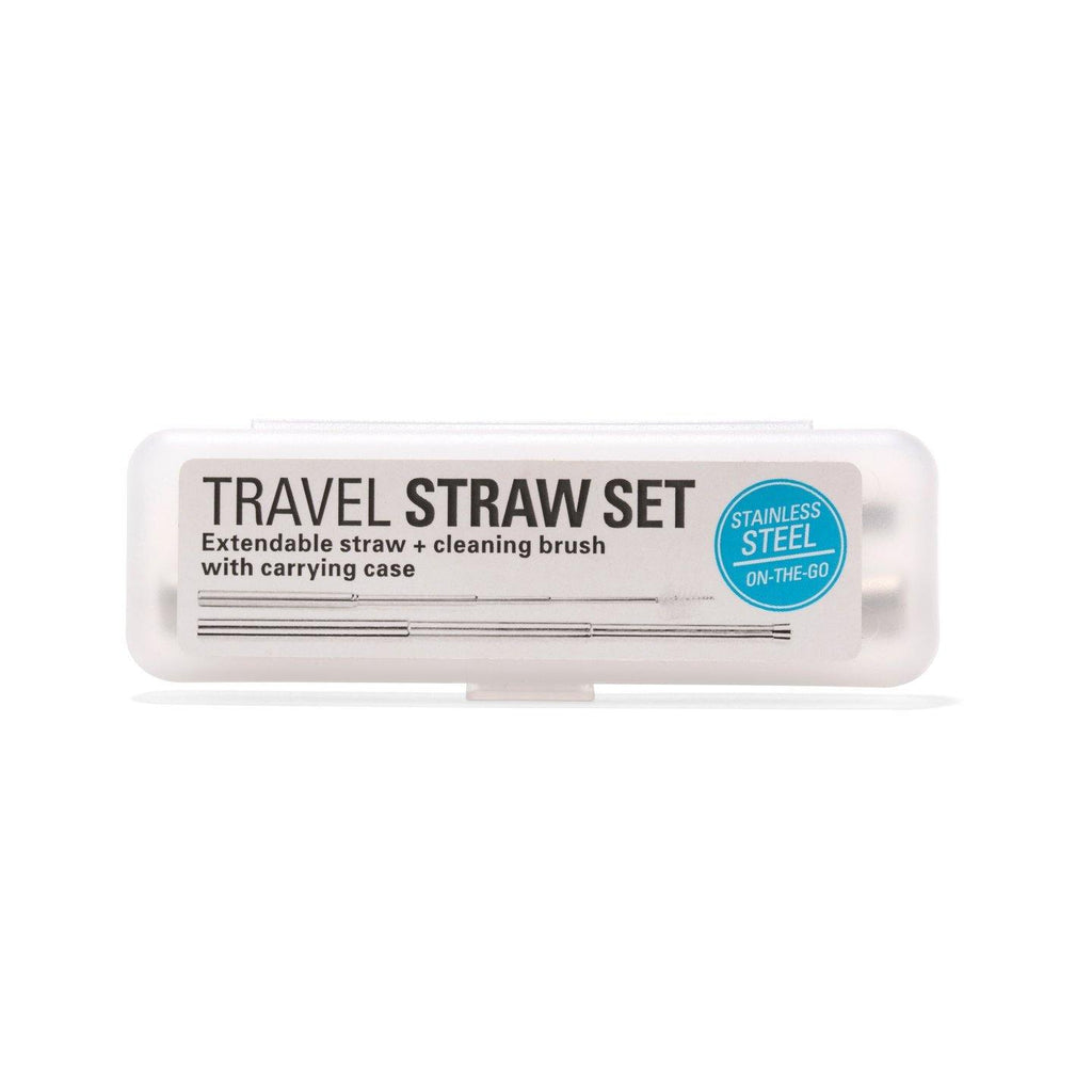 Travel Straw Set - Pretty Shiny Shop