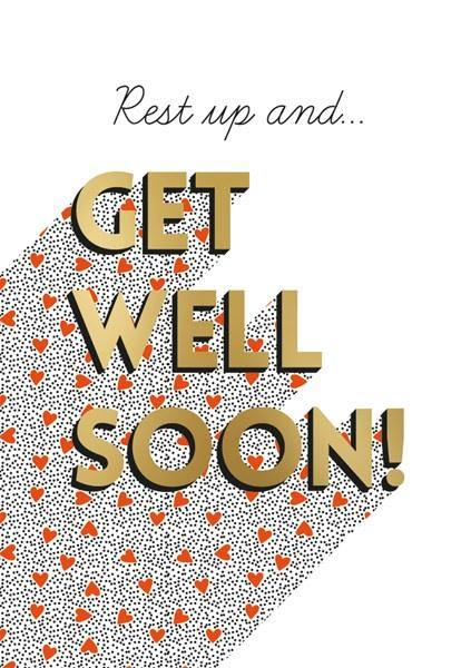 Get Well Hearts Card