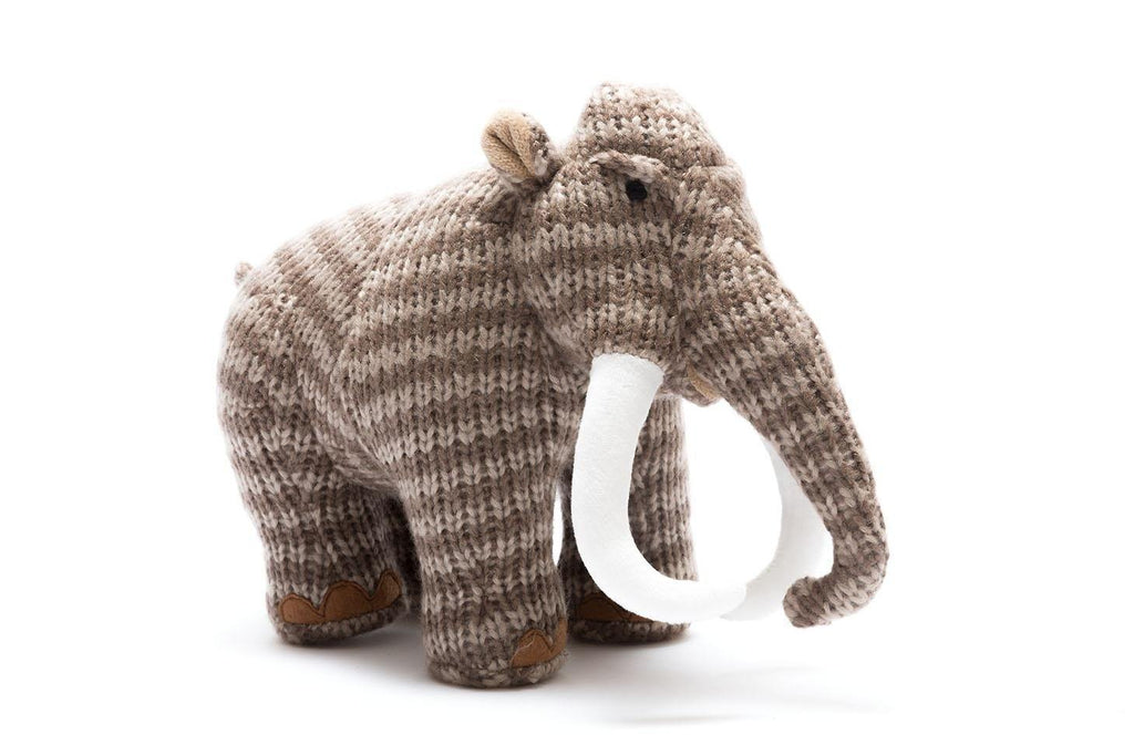 Woolly Mammoth Knitted Toy - Large