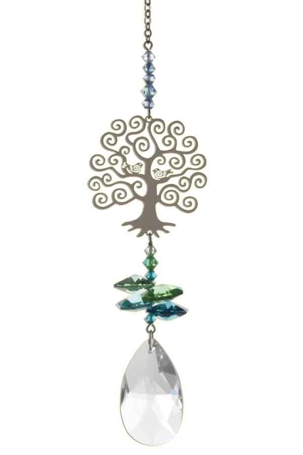 Crystal Fantasies Tree Of Life - Green - Pretty Shiny Shop
