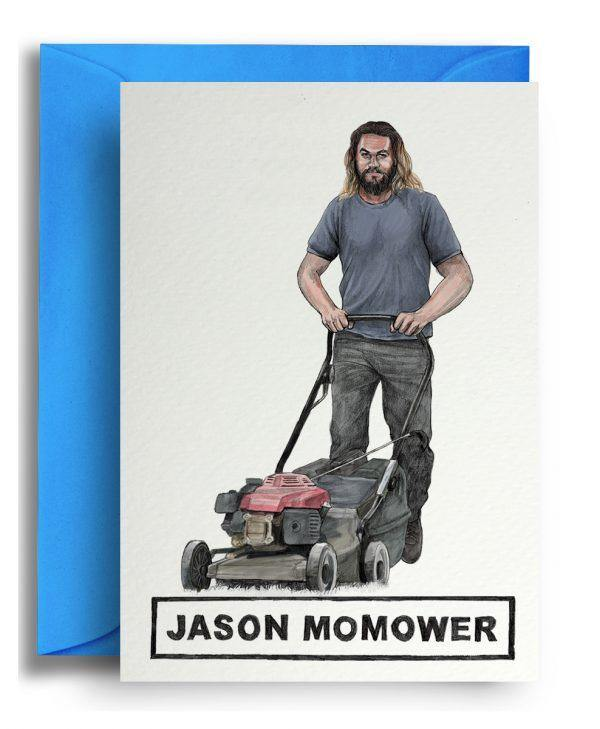 Jason Momower Card - Pretty Shiny Shop