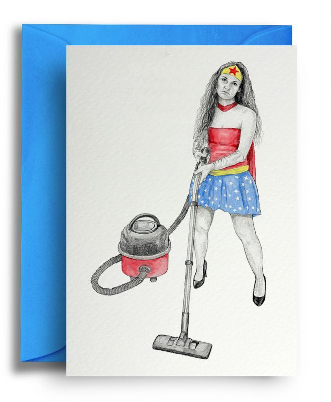 Wonder Woman Card
