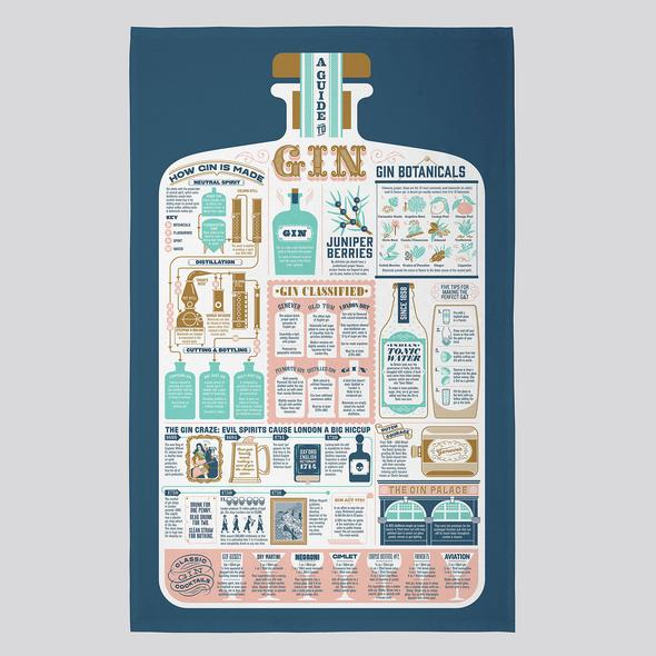 The G&T Tea Towel