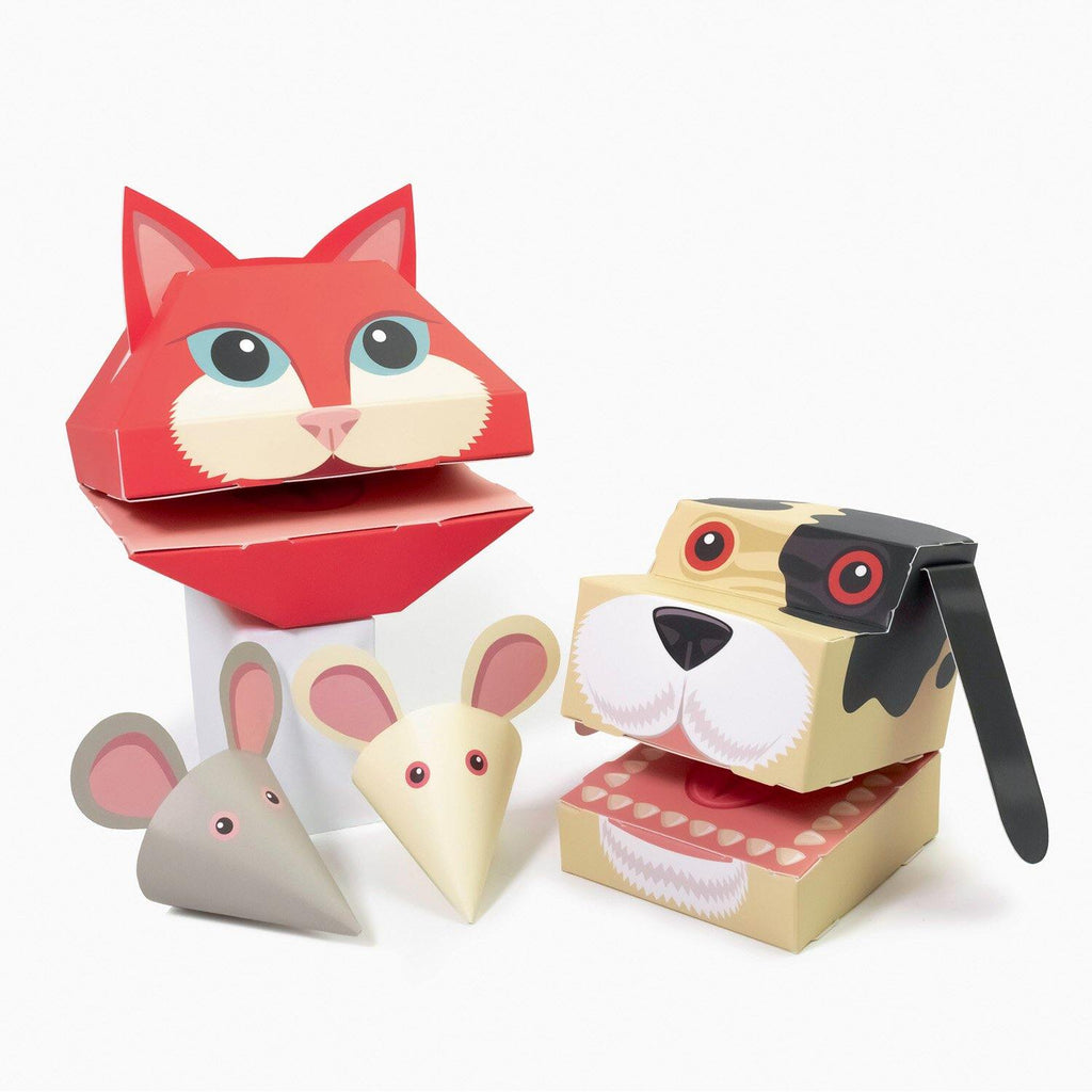 Create Your Own Little Pet Puppets - Pretty Shiny Shop