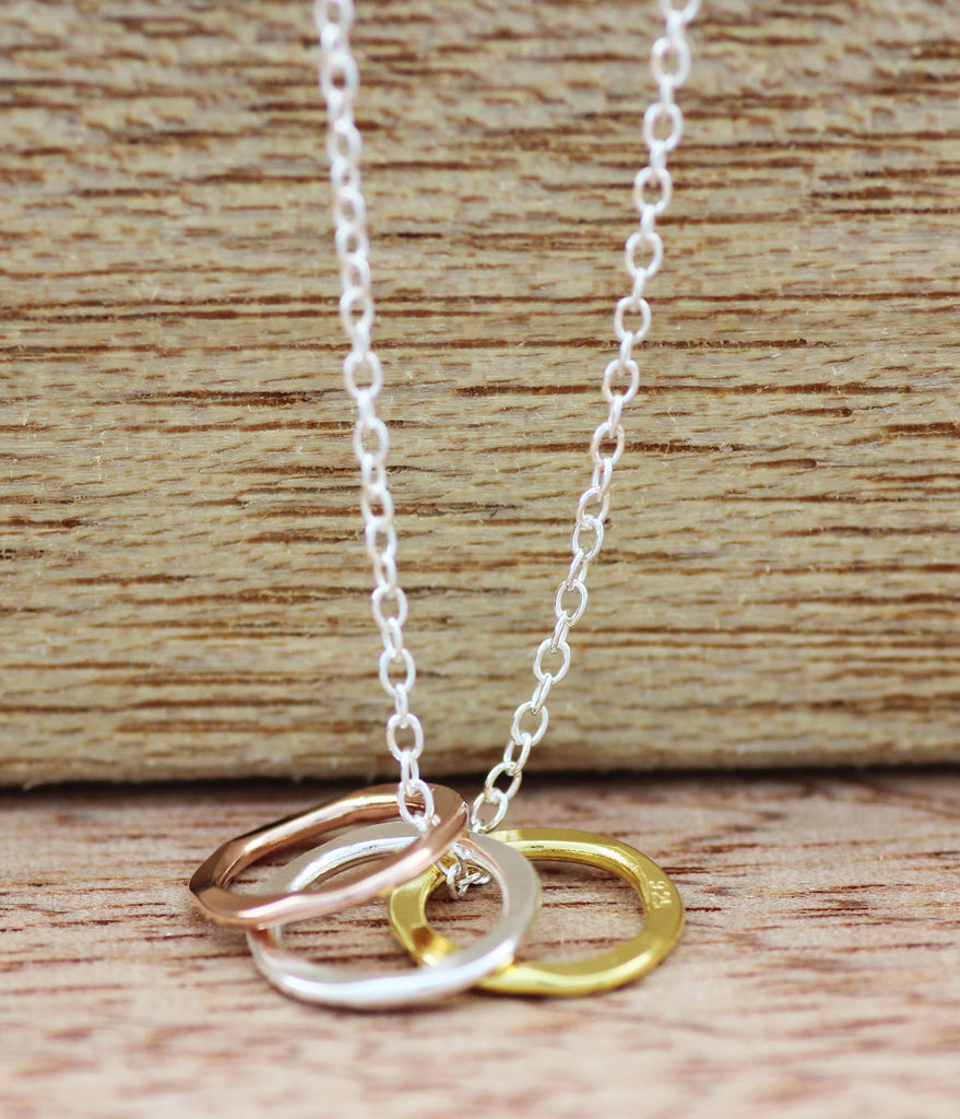 Trinity Circles Necklace