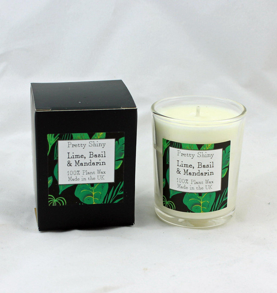 Lime, Basil & Mandarin Votive Candle 9cl