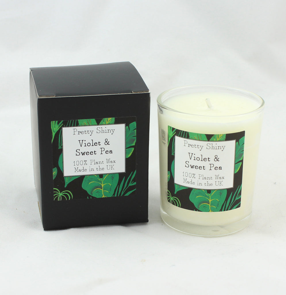 Violet & Sweetpea Votive Candle 9cl