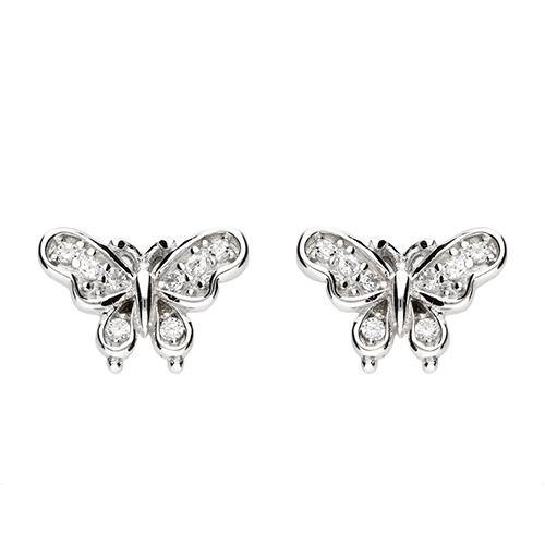 Vintage Butterfly Studs - Pretty Shiny Shop
