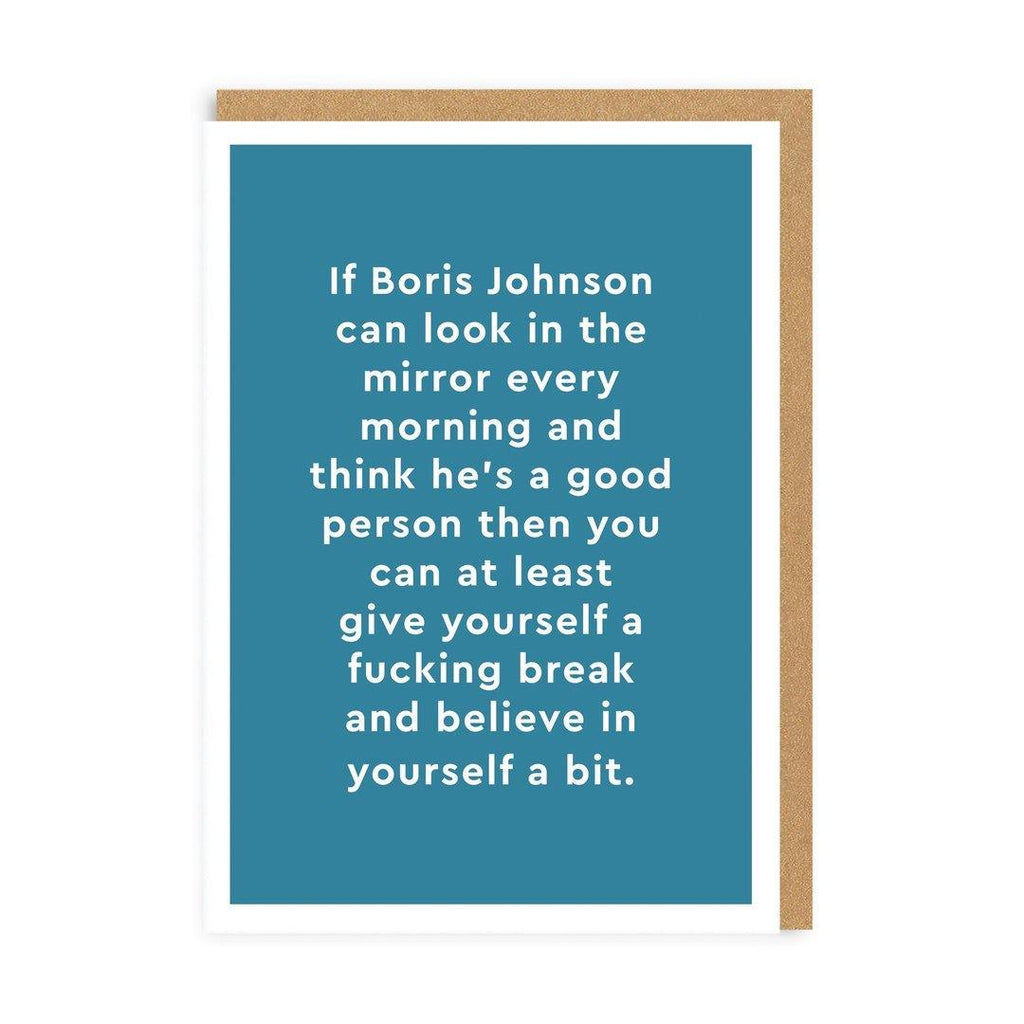 Boris Johnson Card