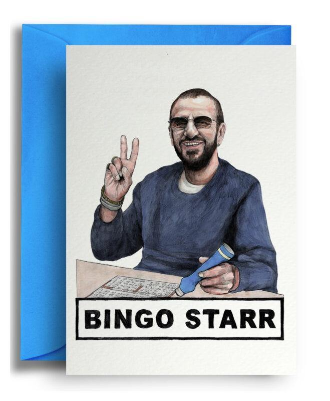 Bingo Starr Card - Pretty Shiny Shop