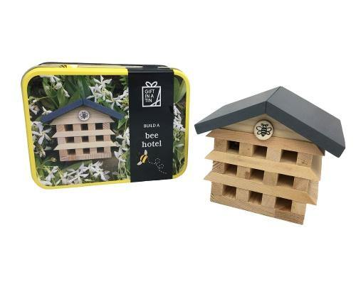 Build a Bee Hotel Tin