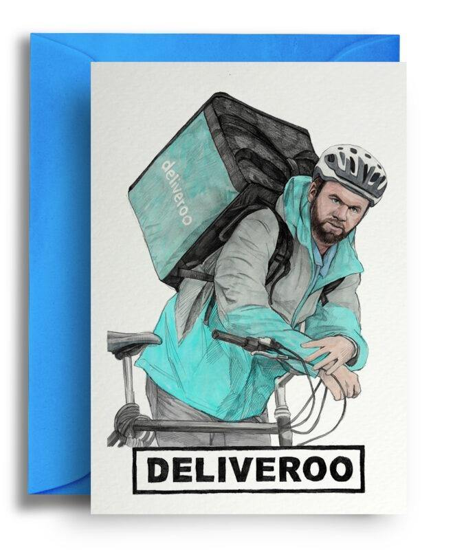 Deliveroo Card - Pretty Shiny Shop