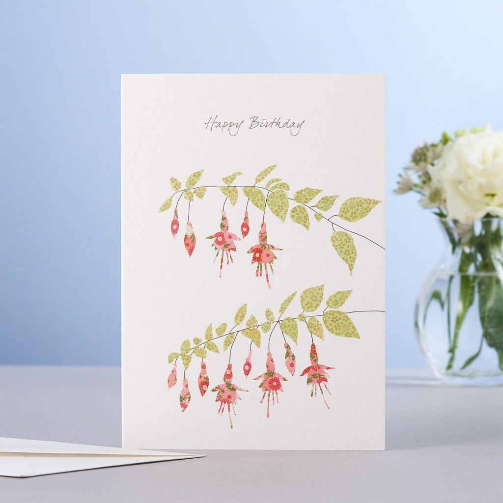 Fuchsia HB Card - Pretty Shiny Shop