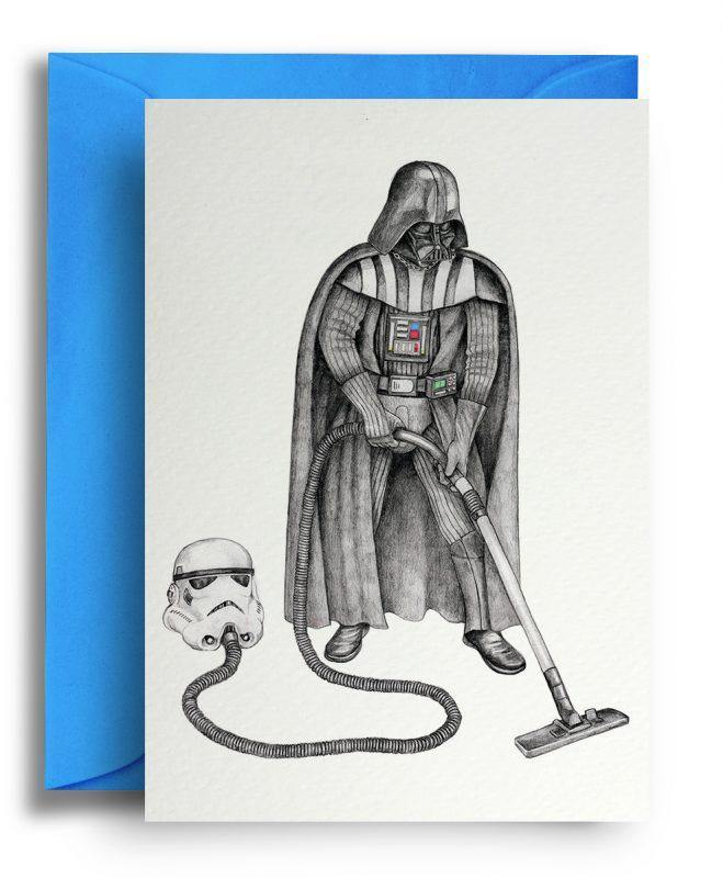 Darth Vador Card