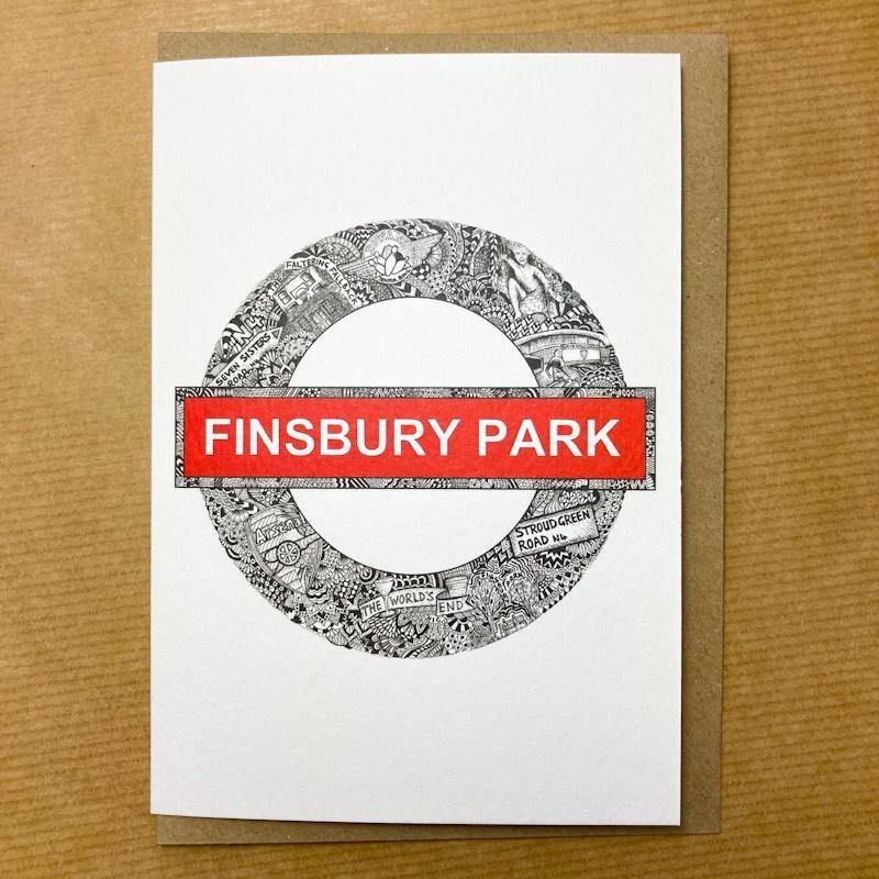 Finsbury Gentangle Card